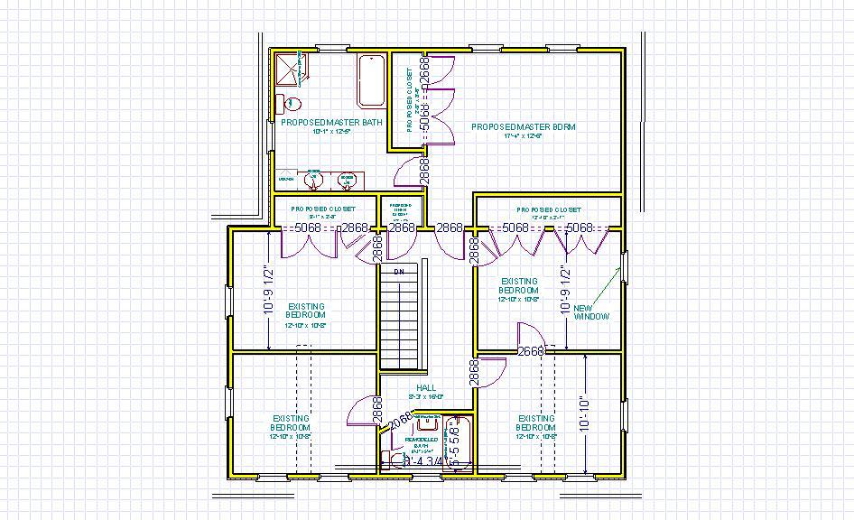 Second story addition for Second story floor plan